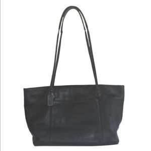 Coach Weekender Leather Shoulder Tote Bag